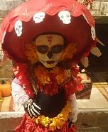 La Muerte Girl Homemade Costume