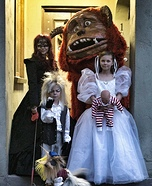 Family costume ideas - Labyrinth Family Costume