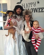 Labyrinth Family Homemade Costume