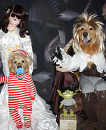 Labyrinth: Jareth the Goblin King and Baby Toby Homemade Costume
