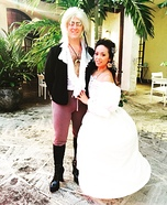 Labyrinth Jareth the Goblin King and Sarah Homemade Costume