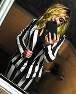 Lady Beetlejuice Homemade Costume