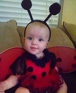 Cute Lady Bug Baby Costume