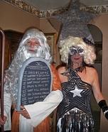 Lady Gaga and Moses Costumes
