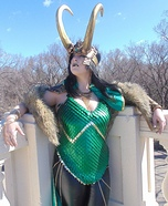 Lady Loki Homemade Costume