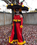 Lady of the Dead La Muerte Homemade Costume