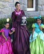 Lady Tremaine and Stepsisters Homemade Costume
