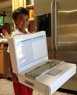 Laptop Homemade Costume