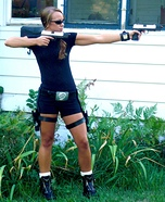 Lara Croft Homemade Costume