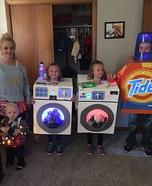 Laundry Family Homemade Costume