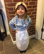 Laura Ingalls Homemade Costume