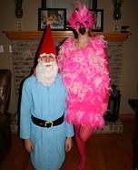 Lawn Ornaments Couple Costume