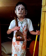Leatherface Homemade Costume