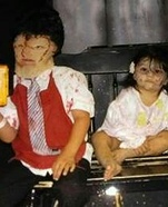 Leatherface and Zombies Homemade Costumes