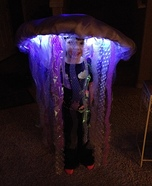 Halloween costume ideas for girls: LED Jellyfish Costume
