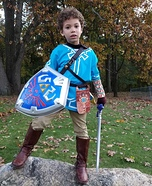 Legend of Zelda's Link from Breath of the Wild Homemade Costume