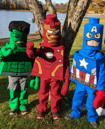 Lego Avengers Homemade Costume