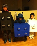 Lego Blocks Homemade Costume