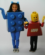 Lego Boy & Brick Homemade Costumes