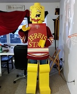 Lego Brutus Homemade Costume