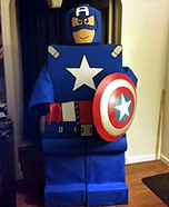 Lego Captain America Costume