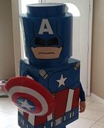 DIY Lego Captain America Costume