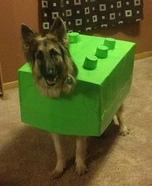 Lego Dog Homemade Costume