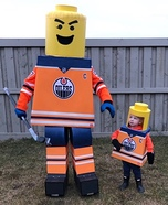 Lego Edmonton Oilers Homemade Costume