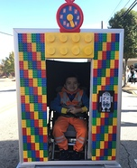 Lego Elevator Homemade Costume