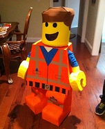 Lego Emmet Homemade Costume