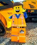 LEGO Emmet Homemade Costume