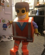 Lego Emmett Homemade Costume