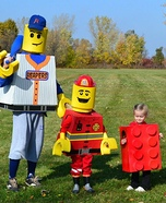 Lego Family Homemade Costume