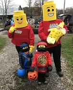 Lego Family Homemade Costume