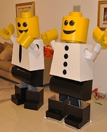 LEGO Figures Homemade Costume