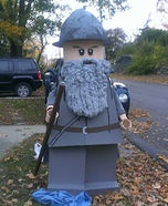 Lego Gandalf Homemade Costume
