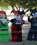 Lego Gotham City Sirens Homemade Costume