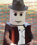 Lego Indiana Jones Homemade Costume