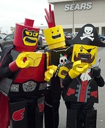 Lego costume ideas - Lego Man Halloween Costumes
