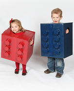 Lego Kids Homemade Costumes