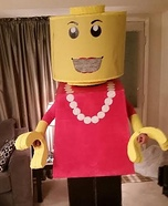 Lego Lady Homemade Costume