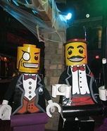 Lego Magician and Lego Sir Costume