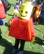 DIY Lego Man Child's Costume