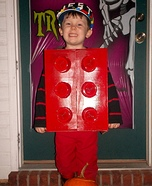 DIY Lego Man Costume
