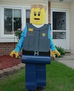Lego Man Chase McCain Homemade Costume