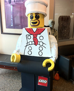 Lego Man Chef Homemade Costume