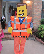Lego Man Emmet Homemade Costume