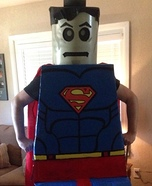 Lego Man of Steel Homemade Costume