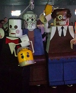 Lego Men Horror Villians Homemade Costume