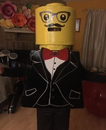 LEGO Mini-Fig Homemade Costume